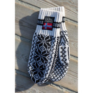 Norwegian Knit Mittens - Viking of Norway - Mens - (79100)