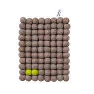 Wool Trivet/Pot Mat - Natural - (1018N)