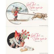 God Jul Note Cards - Jenny Nystrom - (66-053)