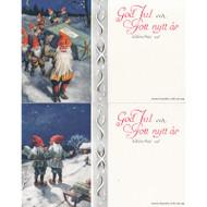 God Jul Note Cards - Jenny Nystrom - (66-055)