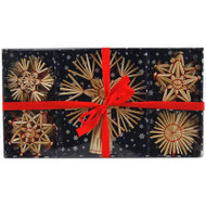 Straw Ornament Set - (H1-1321)
