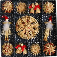 Straw Ornament Set - (H1-531)