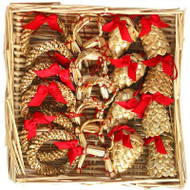 Straw Ornament Assortment - (H1-586)
