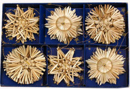 Straw Star Ornaments - (H1-68)