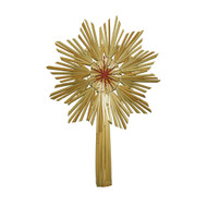 "Straw Star TreeTopper - 10"" (H1-869)"