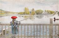 Carl Larsson Blank Card - (NC2813)