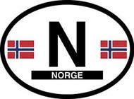 Norway Car Decal - (OD-N)