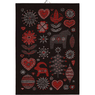 Ekelund Tea/Kitchen Towel - Julnatt-90 (Julnatt-90)
