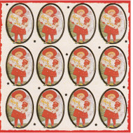 God Jul Girl Stickers - Jenny Nystrom (10815702)
