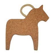 Cork Dala Horse Trivet - w/Rope Handle (291.19)