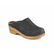 Wright Clogs in Graphite Suede (6166-109)