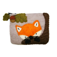 Baby Fox Felt Coin Purse (22118BF)