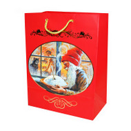 Christmas Gift Bag - Tomte Nisse with Porridge (13768801)