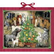 "Advent Calendar - Christmas at the Stable - 22.5"" x 18.5"" (71337)"