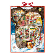 "Advent Calendar - Trolls Christmas Party - 20.5"" x 15"" (92199)"