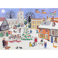 "Advent Calendar - Christmas in the Village - 16.5"" x 11.75"" (AC1)"