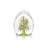 "Tree of Life Green/Yellow (Small) - by Mats Jonasson - 5.5"" (33981)"