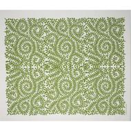 Swedish Drying Mat - Leaves Green (220.02)