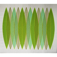 Swedish Drying Mat - Blade Leaves Green (220.05)