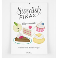 Swedish FIKA Calendar - 2017 (FIKA 2017)