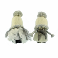 "Wool Tomte - White - 3 3/4"" (7011W)"
