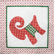 Julbock & Heart Luncheon Napkins - 20 pk (35110)