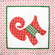 Julbock & Heart Cocktail Napkins - 20 pk (34110)