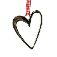 "Heart Contour Ornament - 3"" (10511)"