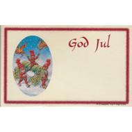 God Jul Christmas Note Pack (66040E)