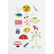 Tea Towel/Kitchen Towel - Swedish Treats (86651)
