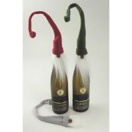 Bottle Topper - Christmas Santa - Red (BB853)