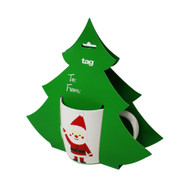 Hanging Holly Jolly Mug (206577)