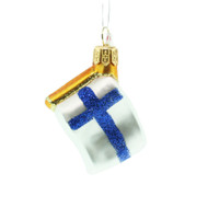 "Finland Flag Glass Ornament Ornament - 2.5"" (2280004)"