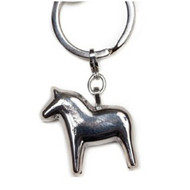 Dalahorse Key Ring - Silver (62790)