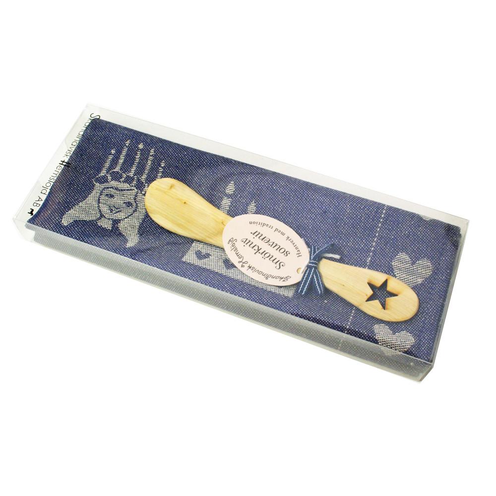 Scandinavianshoppe Com Lucia Kitchen Towel Butterknife Gift Set