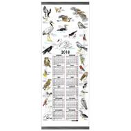 Swedish Wall Calendar - Birds - 2018 (70020)