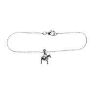 Scandi Mini Dalahorse Bracelet - Silver (63012)