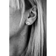 Dalahorse Earrings (Posts/Stick) Silver (63006