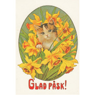Glad Pask Easter Card from artist Jenny Nystrom