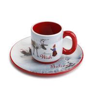 The Christmas Wish - Mini Plate & Mug Set (160569)