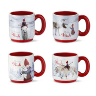 The Christmas Wish - Mini Mugs Set - 4 Asst. (160564)