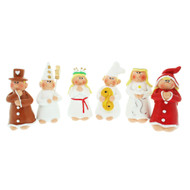 Lucia Procession Ceramic Set - 6 pc's (7762)
