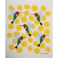Swedish Dishcloth - Hummingbirds (219.40)