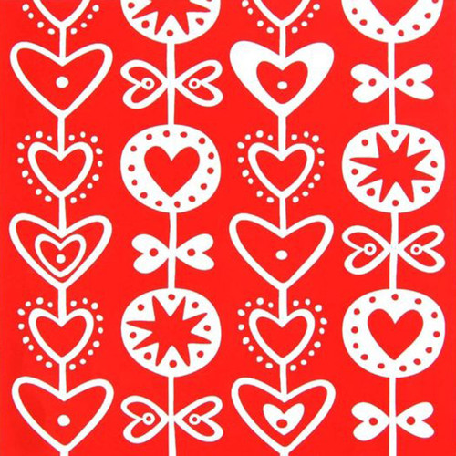 Hearts Paper Luncheon Napkins - 20 Pk - Bengt & Lotta (610064)
