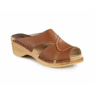 Mariah Clog-Sandals - Napa Tan - Women's - Original Sole Collection (373-266)