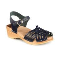 Anna Clog-Sandals in Blue - Women's - Original Sole Collection (066-043)