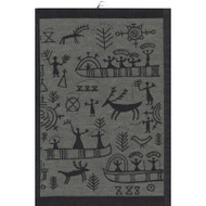 Ekelund Tea/Kitchen Towel - Osterled - Grey (Osterled-98)