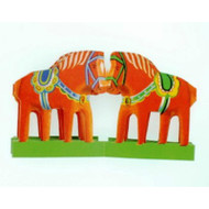 Dala Horses - Cutout (BK-2)