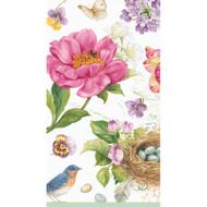 Caspari Spring Sketchbook Paper Guest Towel Napkins (13060G)