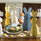 Easter Bunny Decoration - Wooden (7101101)